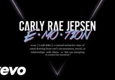 Carly Rae Jepsen - E•MO•TION