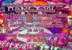 Maroon 5 - The Man Who Never Lied