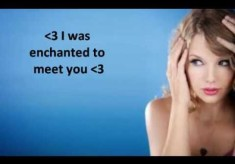 Taylor Swift - Enchanted