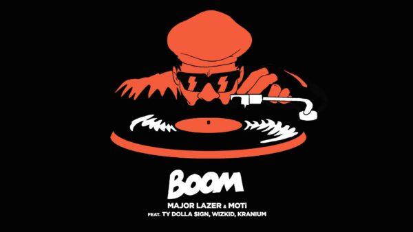 Major Lazer & MOTi - Boom feat. Ty Dolla $ign, Wizkid, & Kranium