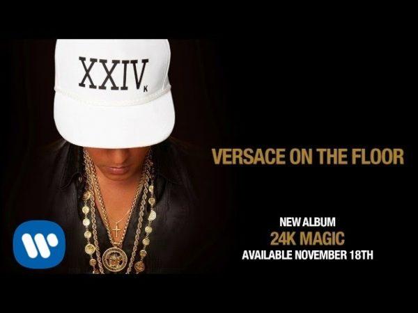 Bruno Mars - Versace on The Floor