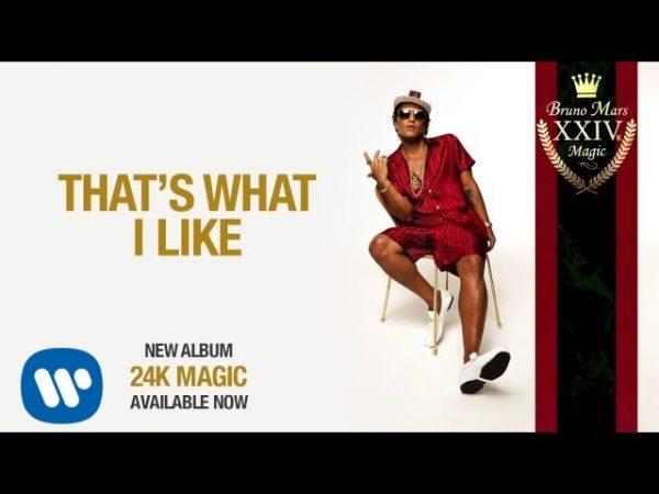 Bruno Mars - That's What I Like